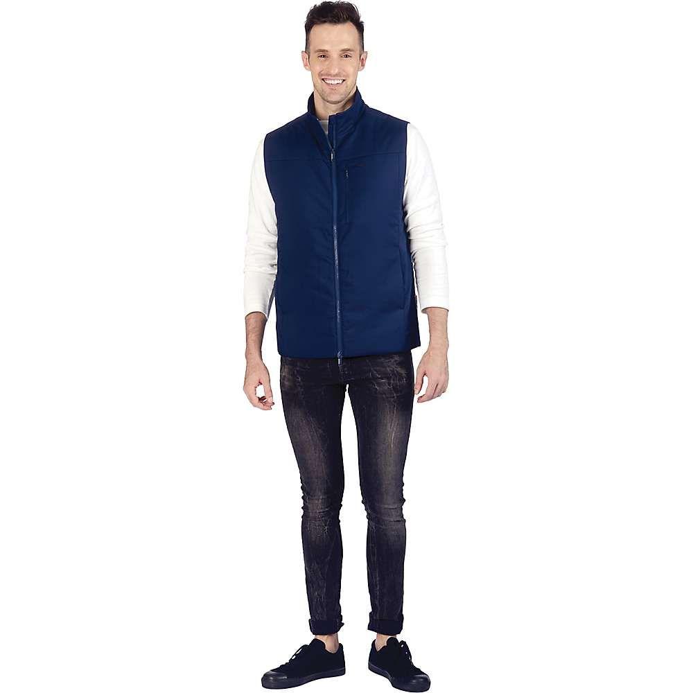 パックセーフ Pacsafe メンズ ベスト・ジレ トップス【Transit Insulated Vest】Bleu Noir