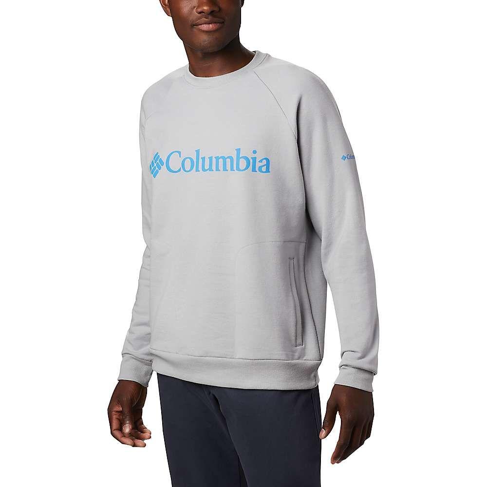 コロンビア Columbia メンズ トップス 【Lodge Crew】Columbia Grey Heather/Azure Blue