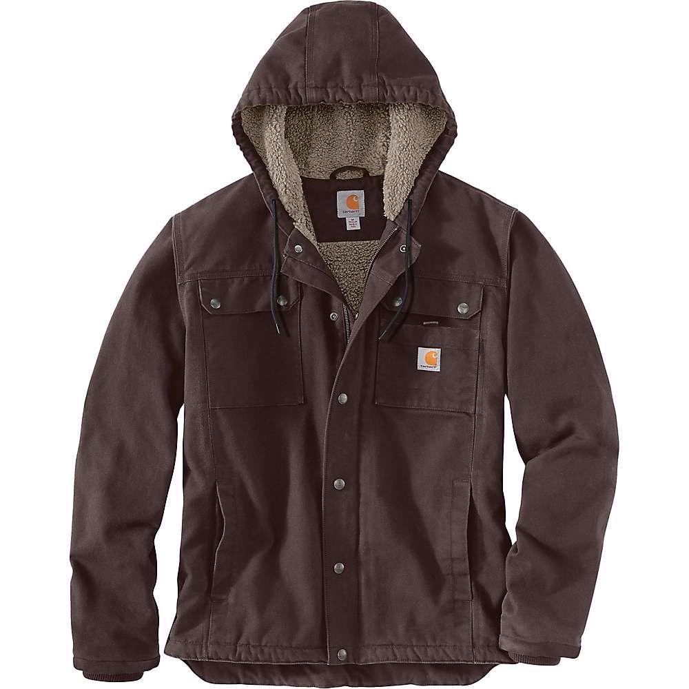 カーハート Carhartt メンズ ジャケット アウター【Washed Duck Bartlett Jacket】Dark Brown