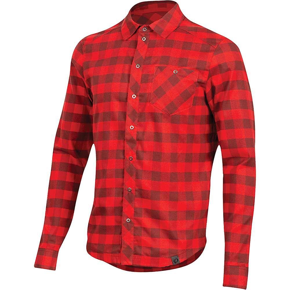 パールイズミ Pearl Izumi メンズ シャツ トップス【Rove LS Shirt】Torch Red/Russet Plaid