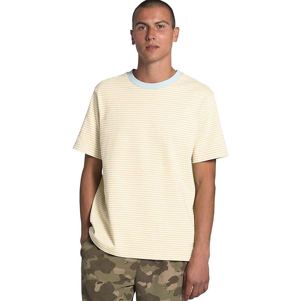 ザ ノースフェイス The North Face メンズ Tシャツ トップス【Berkeley Stripe SS Tee】Vintage White Valley Stripe