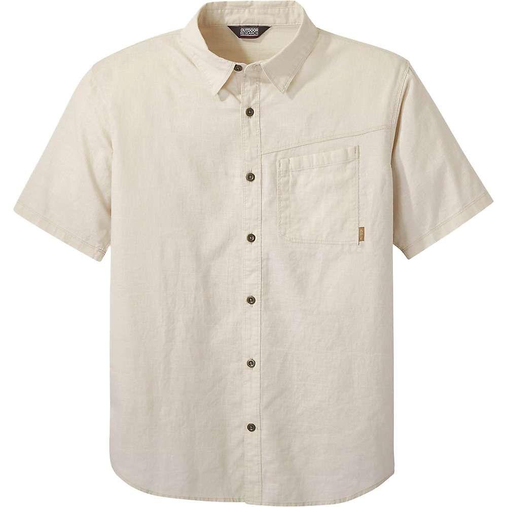 アウトドアリサーチ Outdoor Research メンズ 半袖シャツ トップス【Weisse Shirt】Sand