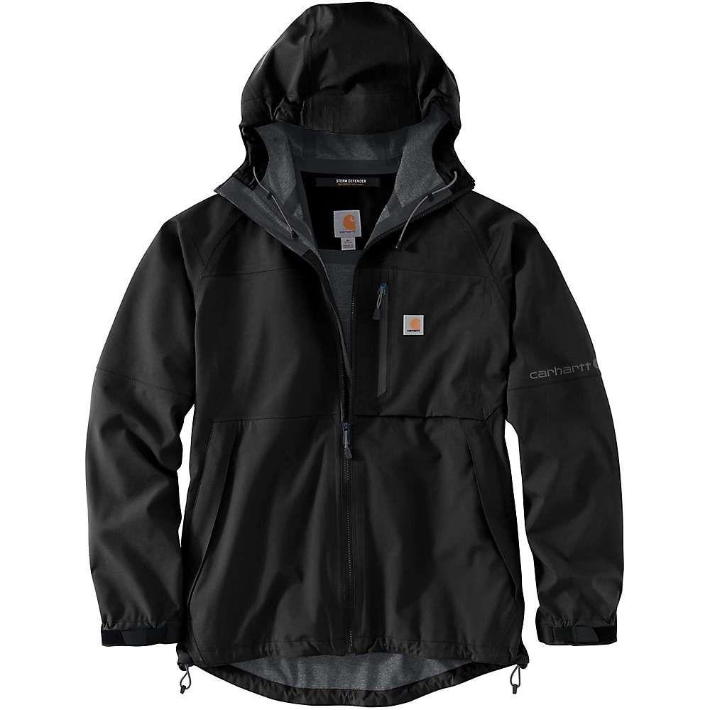 カーハート Carhartt メンズ レインコート アウター【Storm Defender Force Midweight Jacket】Black