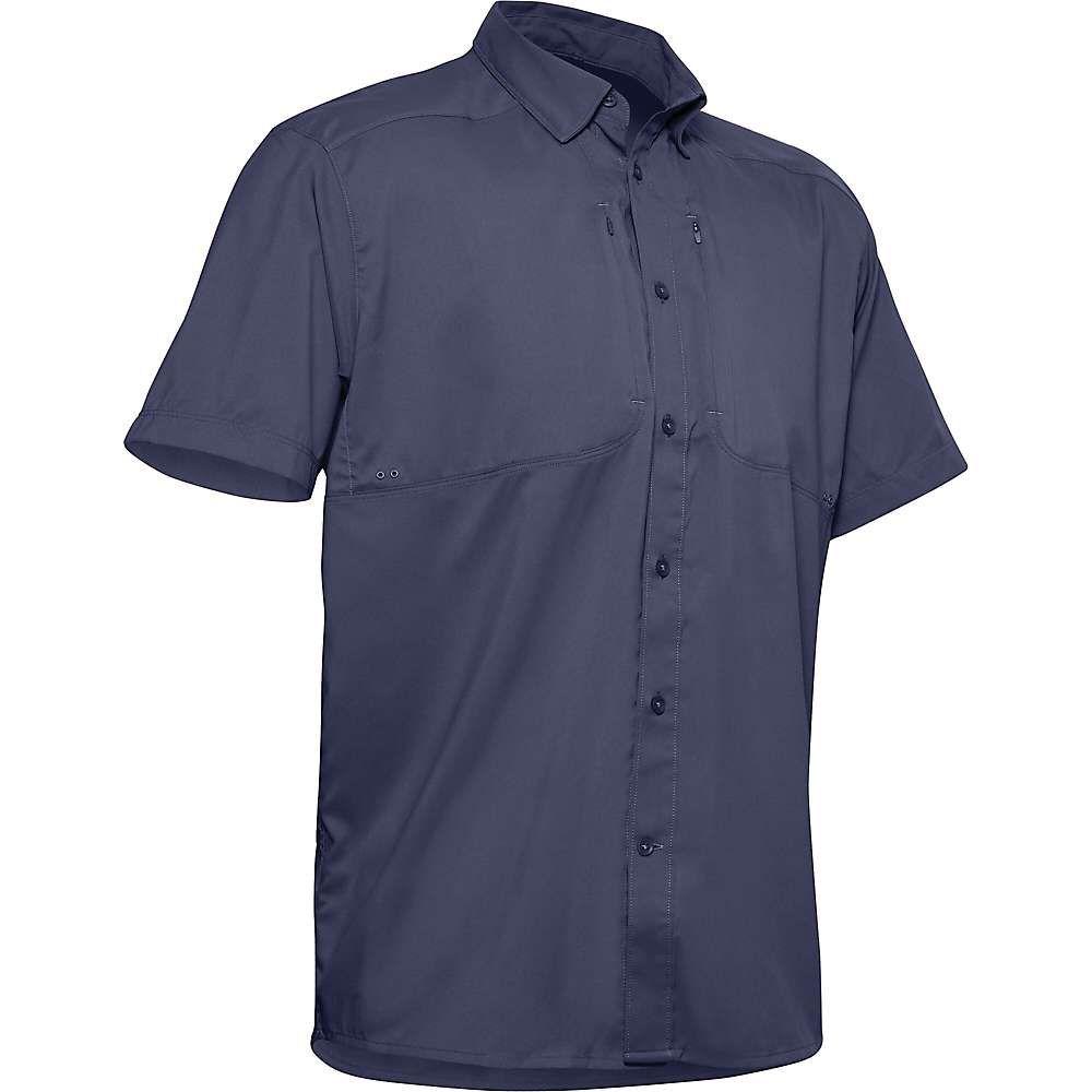 アンダーアーマー Under Armour メンズ 半袖シャツ トップス【Tide Chaser 2.0 SS Shirt】Blue Ink/Blue Ink