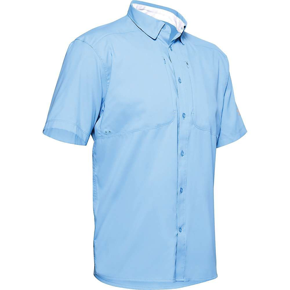 アンダーアーマー Under Armour メンズ 半袖シャツ トップス【Tide Chaser 2.0 SS Shirt】Carolina Blue/Carolina Blue