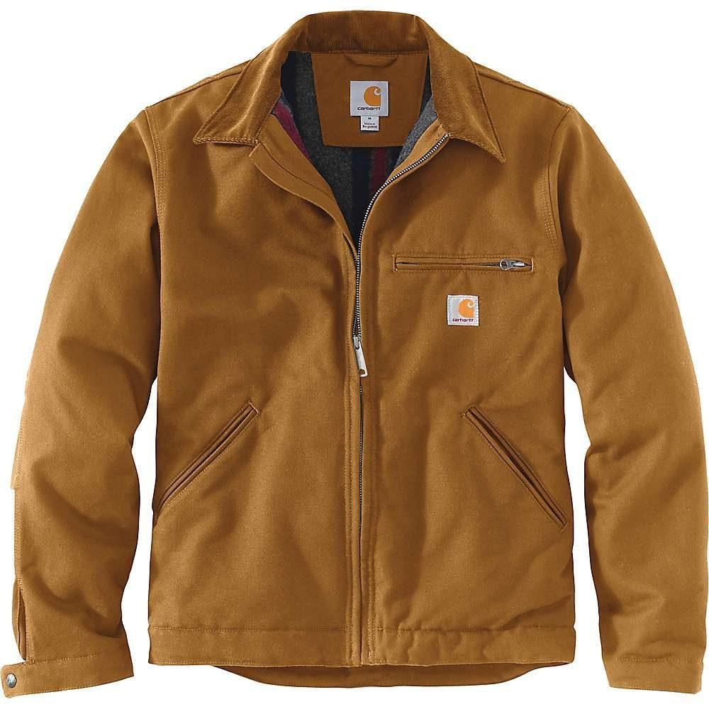 カーハート Carhartt メンズ ジャケット アウター【Duck Detroit Jacket】Carhartt Brown