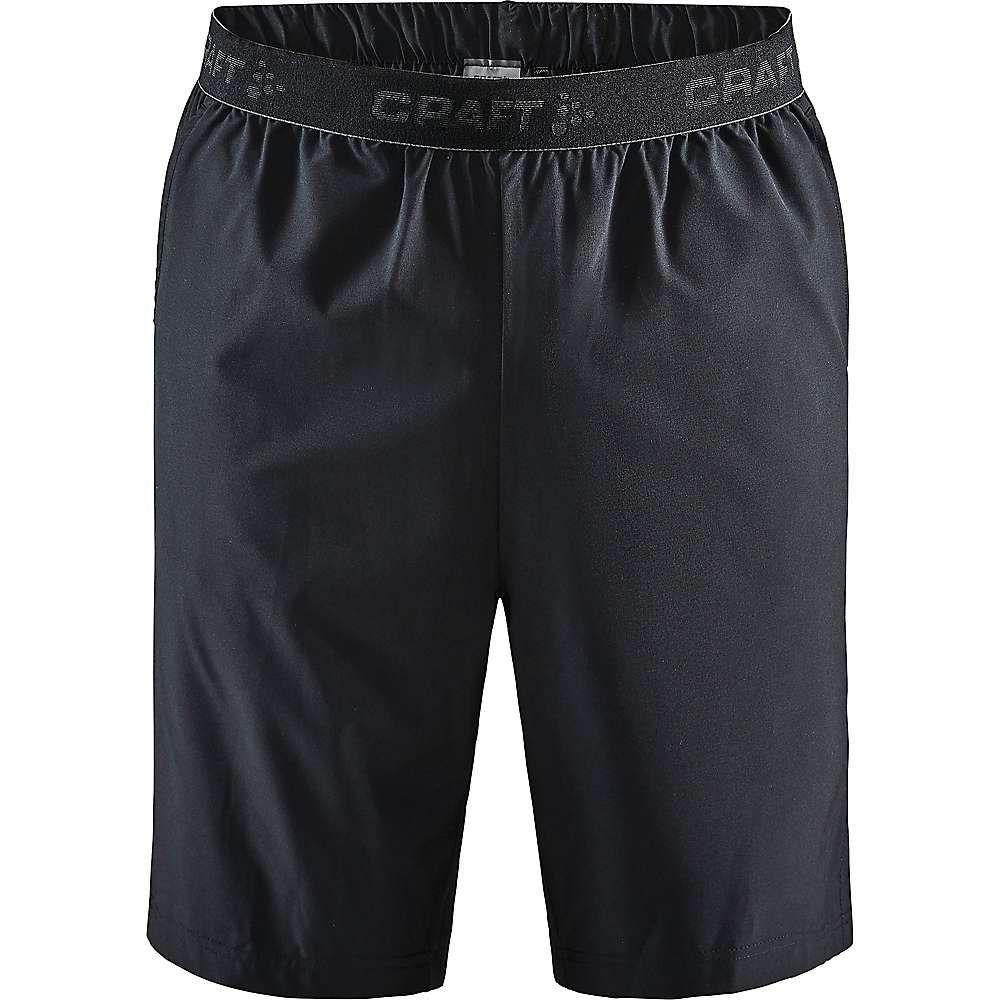 クラフト Craft Sportswear メンズ ショートパンツ ボトムス・パンツ【Craft Core Essence Relaxed Short】Black