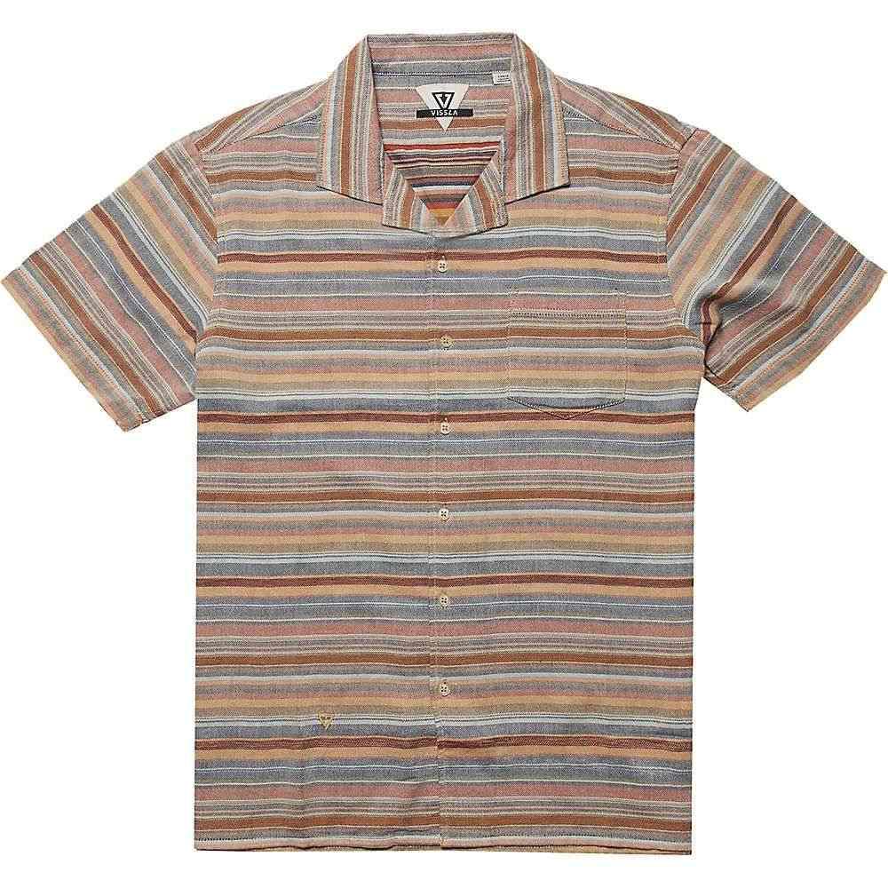 ヴィスラ Vissla メンズ 半袖シャツ トップス【Baja Del Sur SS Shirt】Rusty Red