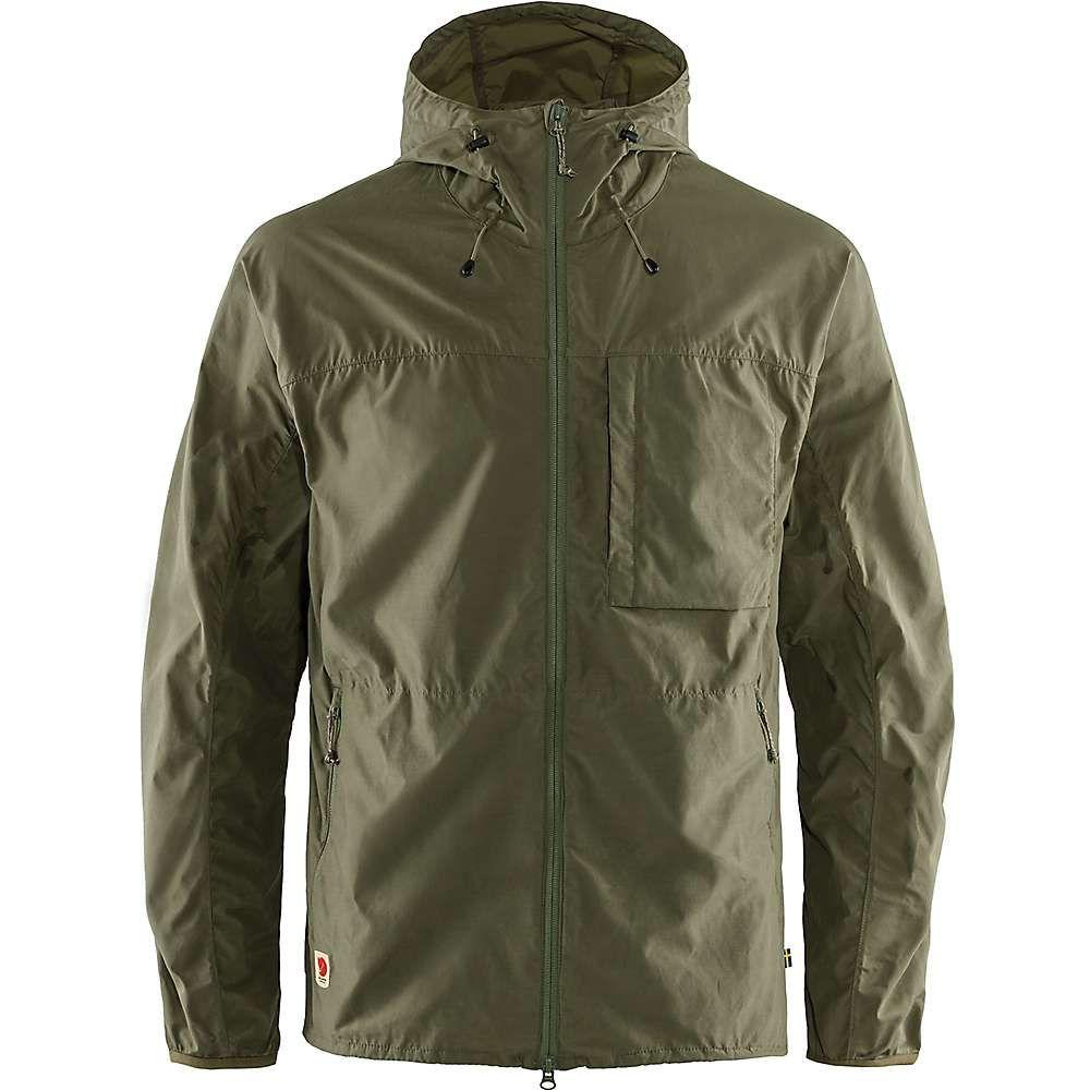 フェールラーベン Fjallraven メンズ ジャケット ウィンドブレーカー アウター【High Coast Wind Jacket】Green