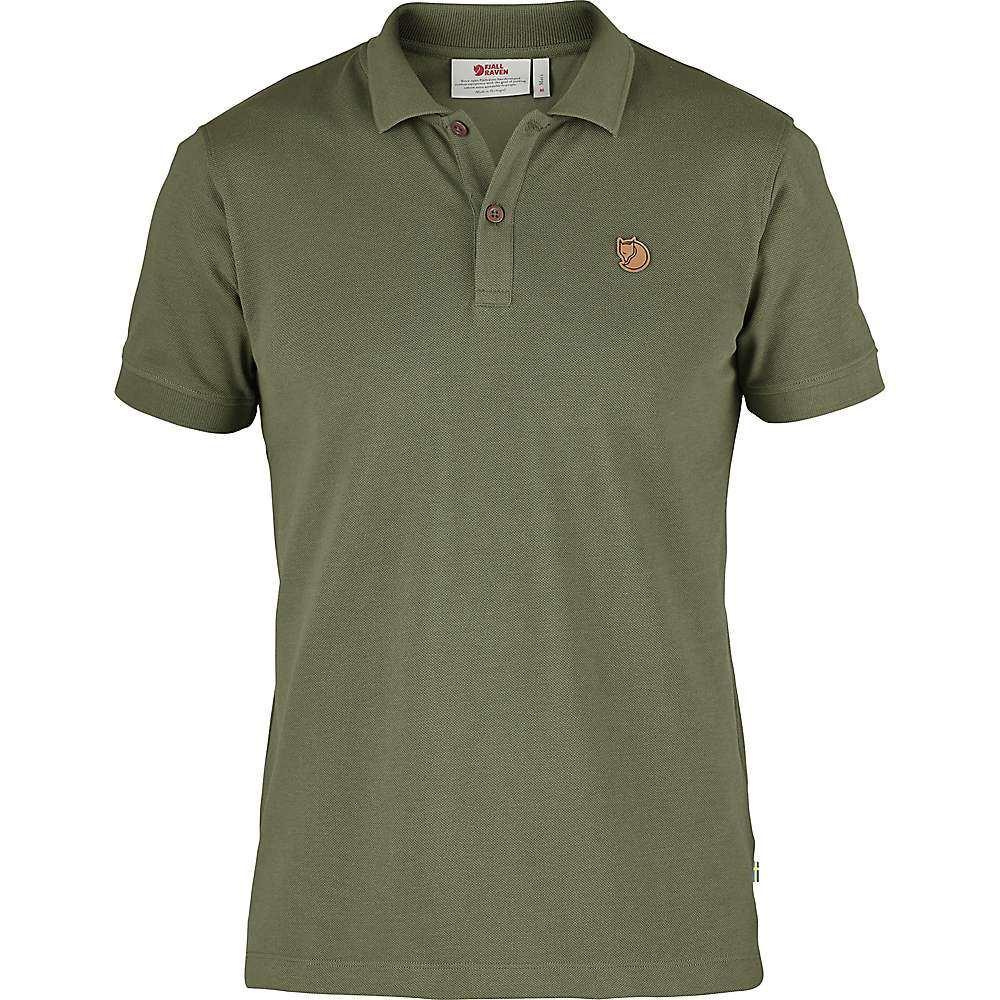 フェールラーベン Fjallraven メンズ ポロシャツ トップス【Ovik Polo SS Shirt】Green