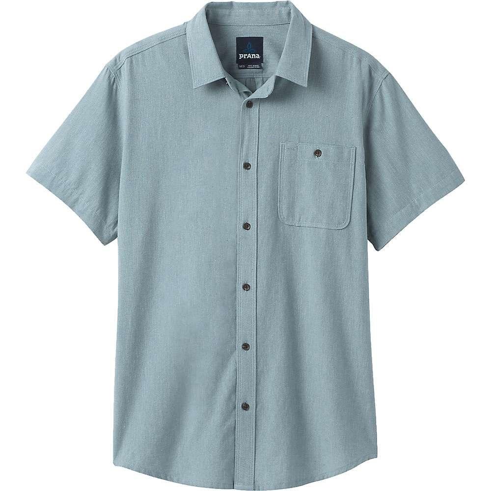 プラーナ Prana メンズ 半袖シャツ トップス【Jaffra SS Shirt】Breeze