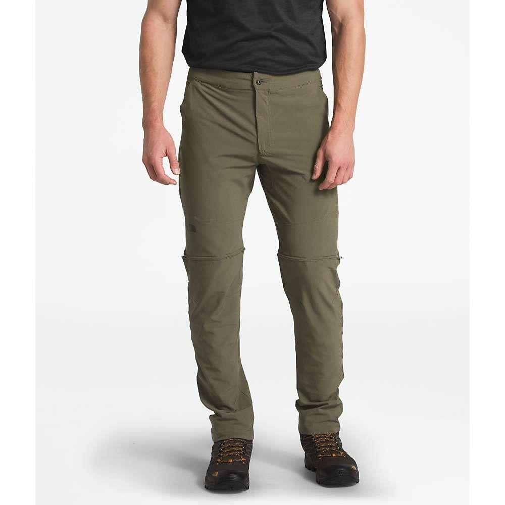 ザ ノースフェイス メンズ ハイキング 登山 ボトムス パンツ New 安心の定価販売 Taupe 予約販売品 North Face Paramount Convertible The Pant Green Active サイズ交換無料