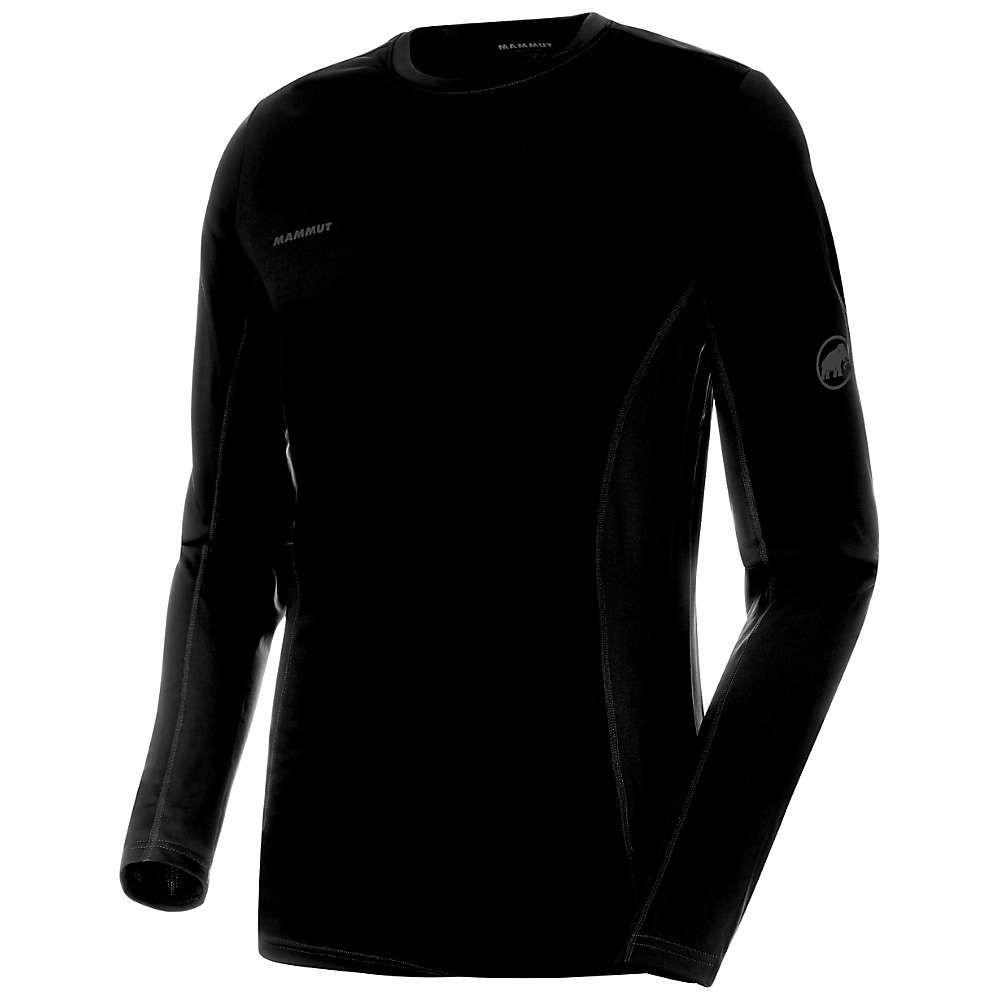 マムート Mammut メンズ 長袖Tシャツ トップス【Sertig LS T-Shirt】Black