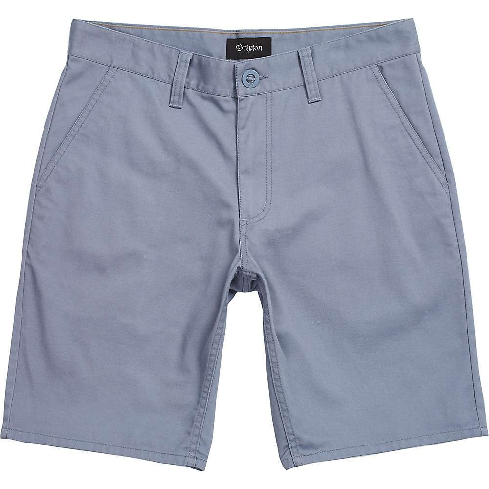 ブリクストン Brixton メンズ ショートパンツ ボトムス・パンツ【Toil II Hemmed Short】Grey Blue