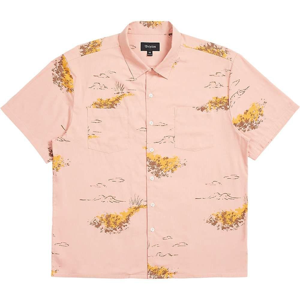 ブリクストン Brixton メンズ 半袖シャツ トップス【Cruze SS Woven Shirt】Cameo