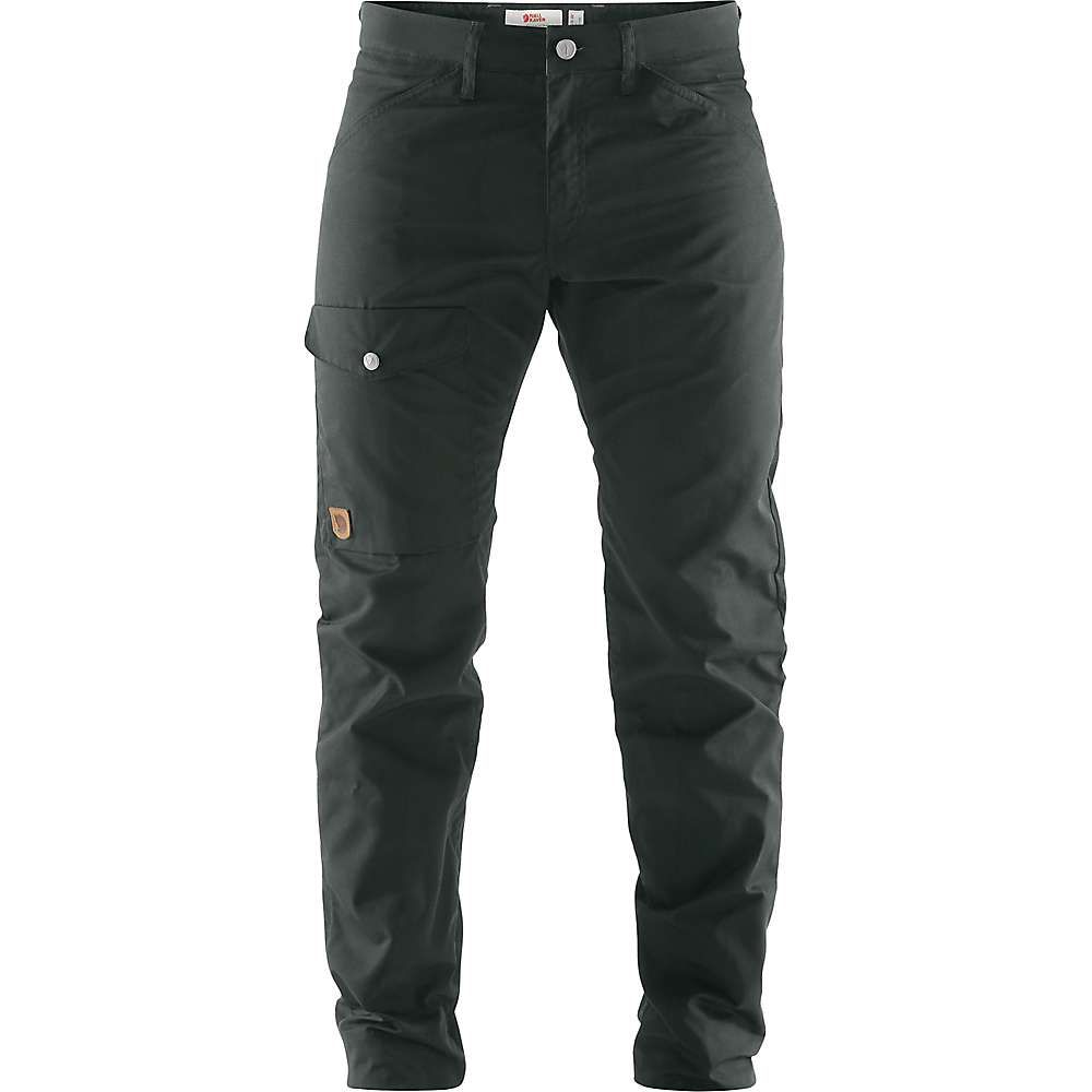 フェールラーベン Fjallraven メンズ ハイキング・登山 ジーンズ・デニム ボトムス・パンツ【Greenland Jeans】Dark Grey