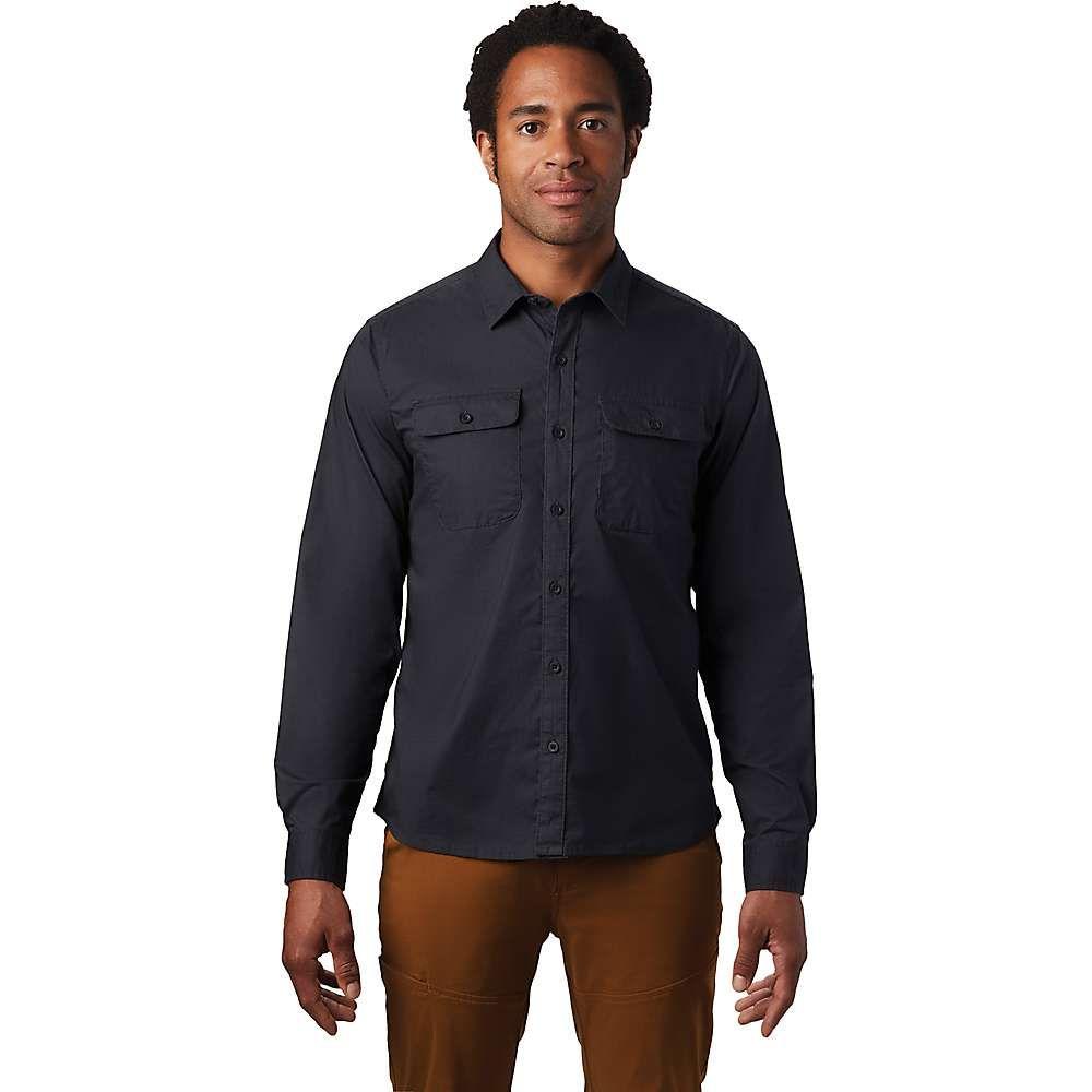 マウンテンハードウェア Mountain Hardwear メンズ シャツ トップス【J Tree LS Shirt】Dark Storm