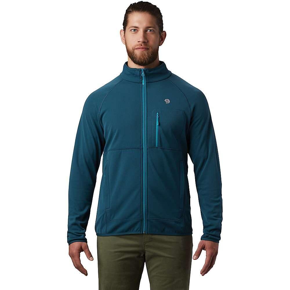 マウンテンハードウェア Mountain Hardwear メンズ ジャケット アウター【Norse Peak Full Zip Jacket】Icelandic