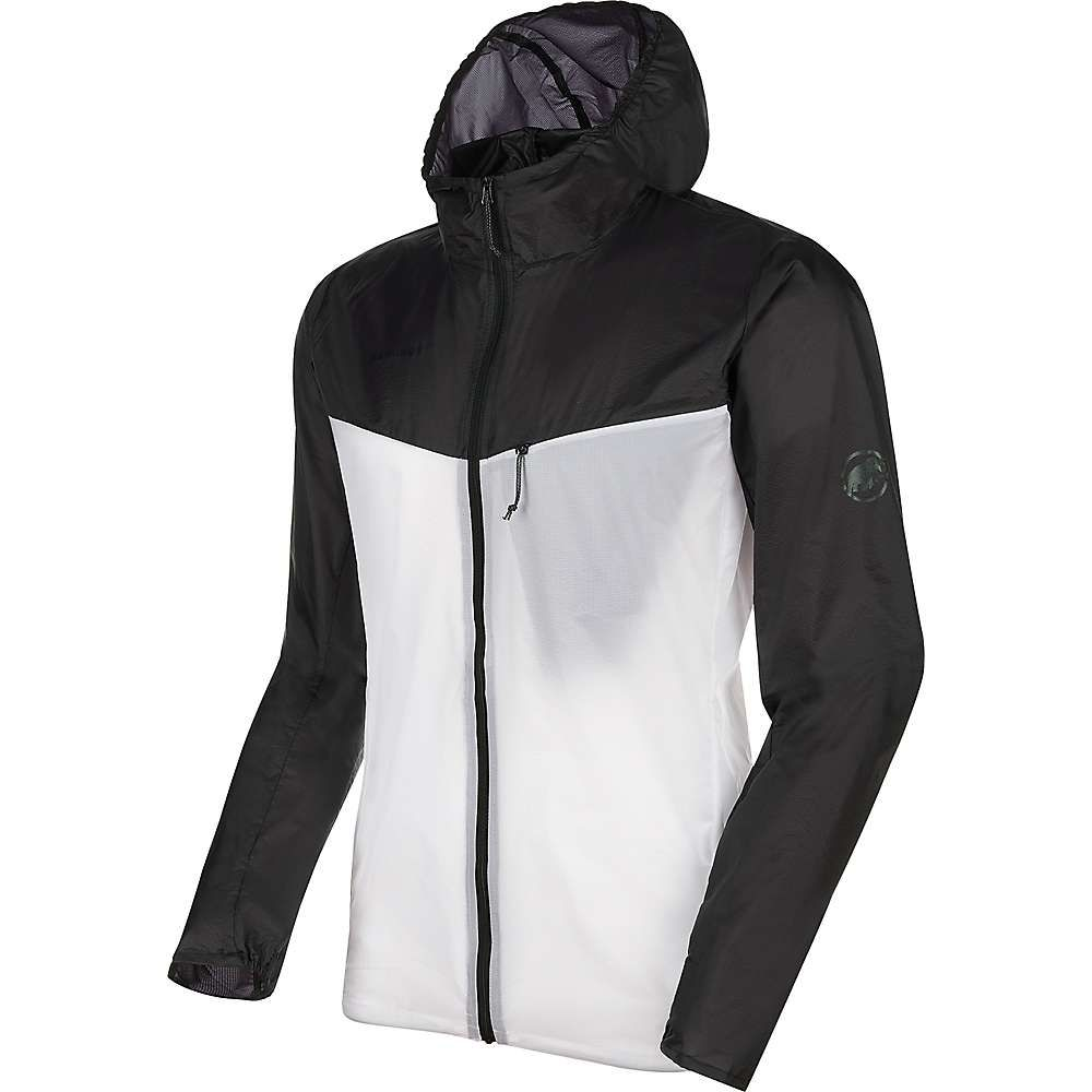 マムート Mammut メンズ ジャケット フード アウター【Convey WB Hooded Jacket】Black/Bright White