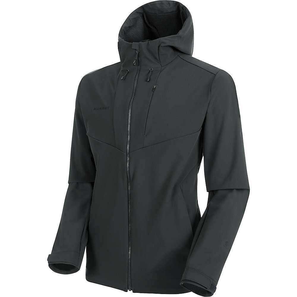 マムート Mammut メンズ ジャケット フード アウター【Sapuen SO Hooded Jacket】Phantom