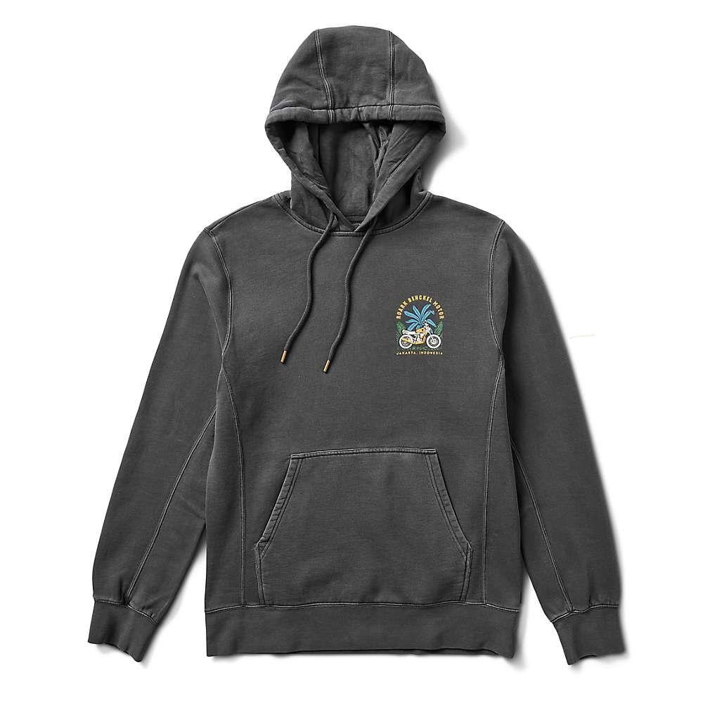 ローアク Roark メンズ フリース トップス【Bengkel Moto Fleece Pullover Hoodie】Black