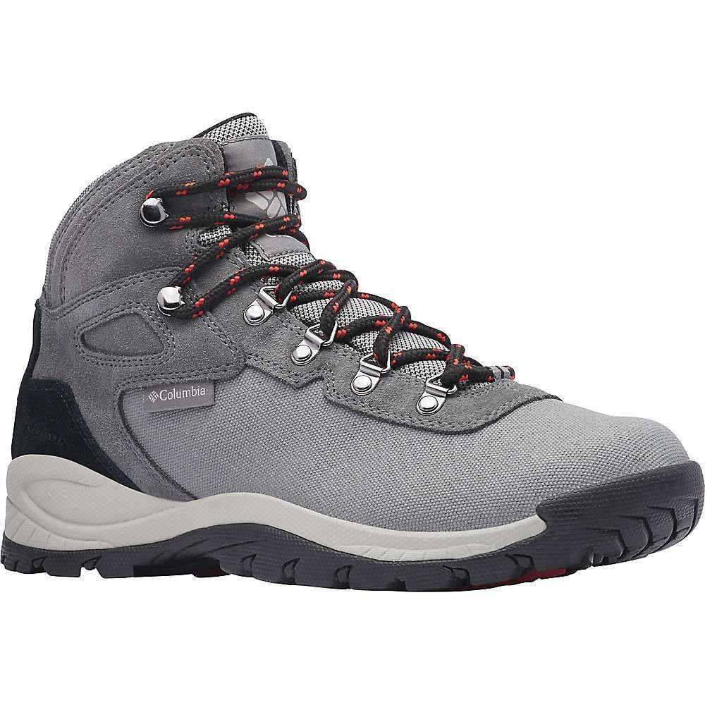 コロンビア Columbia Footwear メンズ ハイキング・登山 シューズ・靴【Columbia Newton Ridge LT Waterproof Shoe】Titanium Ii/Rust Red
