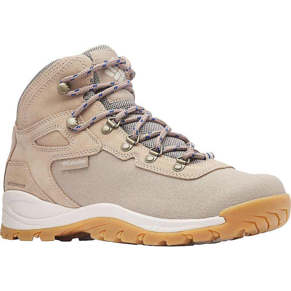 コロンビア Columbia Footwear メンズ ハイキング・登山 シューズ・靴【Columbia Newton Ridge LT Waterproof Shoe】Oxford Tan/Royal