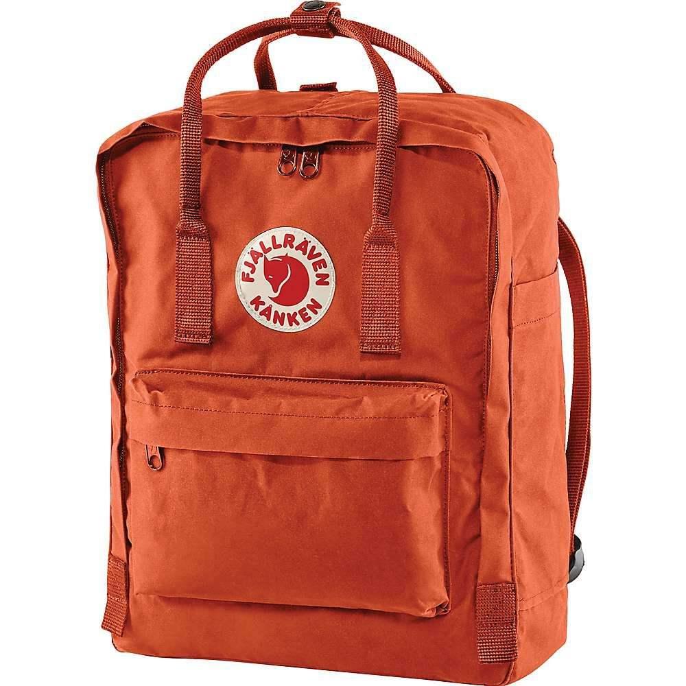 フェールラーベン Fjallraven ユニセックス バックパック・リュック カンケン バッグ【Kanken Backpack】Rowan Red