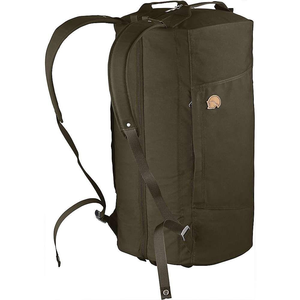 フェールラーベン Fjallraven ユニセックス ボストンバッグ・ダッフルバッグ バッグ【Splitpack Large Duffel Bag】Dark Olive