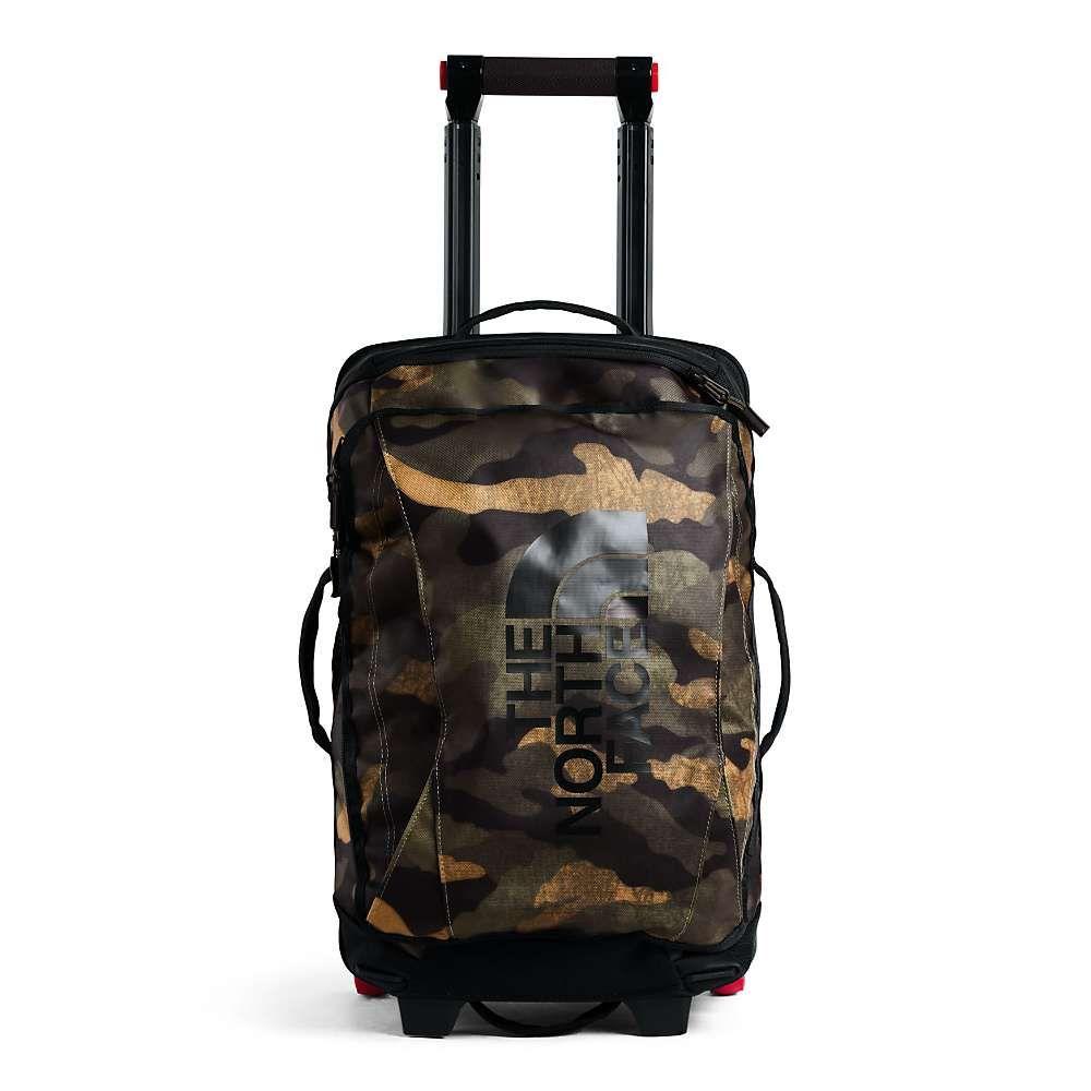 ザ ノースフェイス The North Face ユニセックス スーツケース・キャリーバッグ バッグ【Rolling Thunder 22IN Wheeled Luggage】Burnt Olive Green Waxed Camo Print/TNF Black