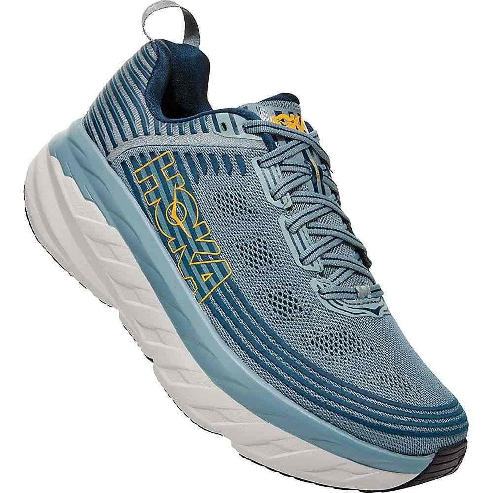ホカ オネオネ Hoka One One メンズ ランニング・ウォーキング シューズ・靴【Bondi 6 Shoe】Lead/Majolica Blue
