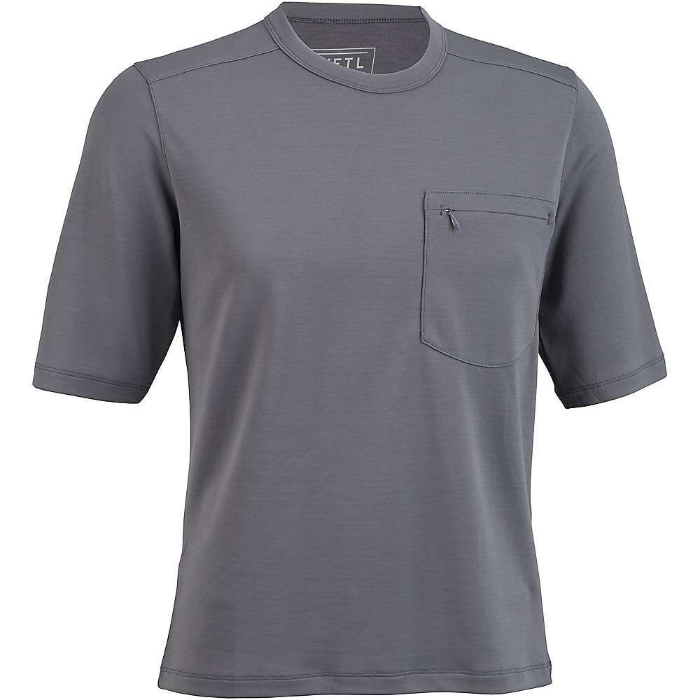KETL メンズ フィットネス・トレーニング トップス【Merino Blend Short Sleeve Jersey】Dark Gray