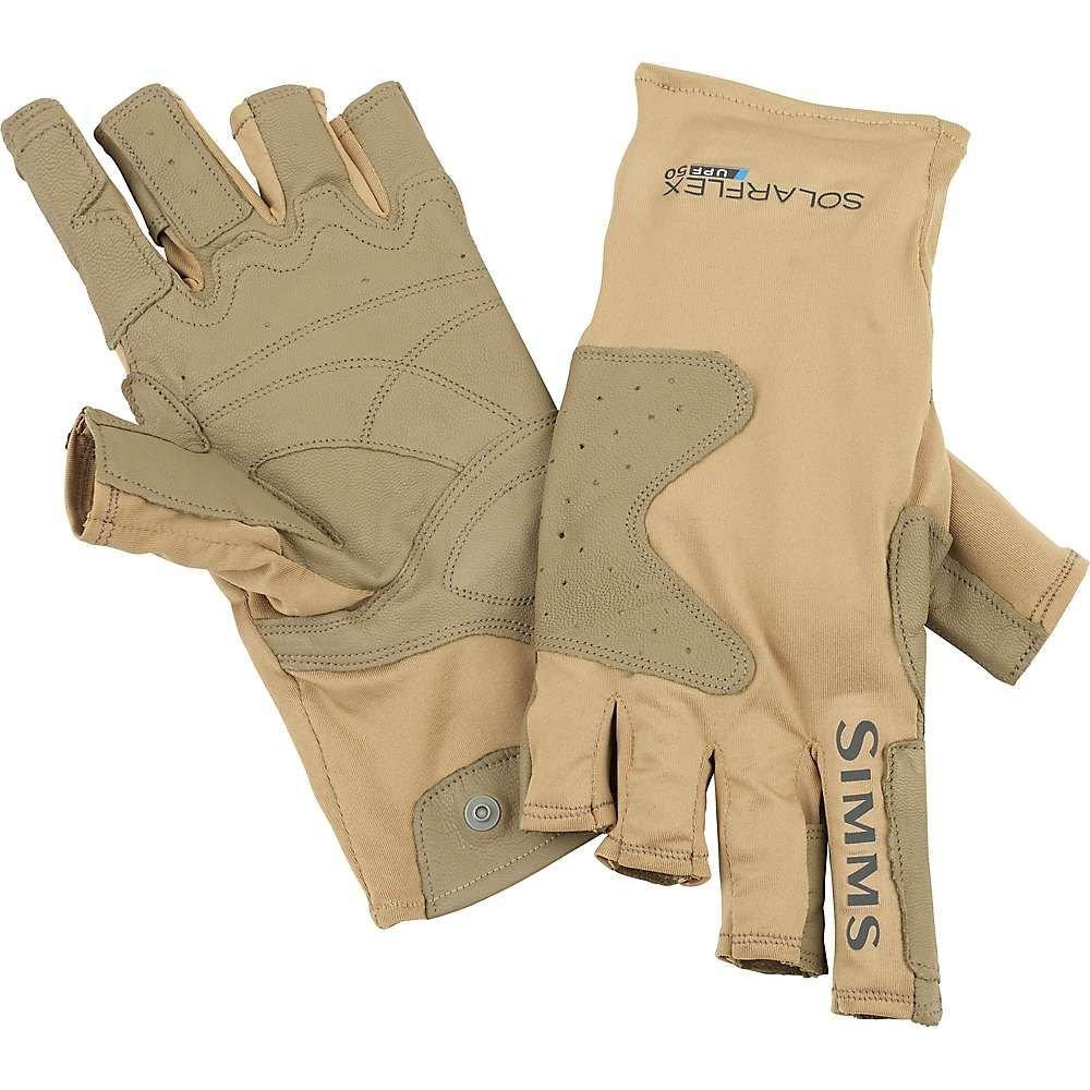 シムス Simms メンズ 釣り・フィッシング グローブ【SolarFlex Guide Glove】Cork