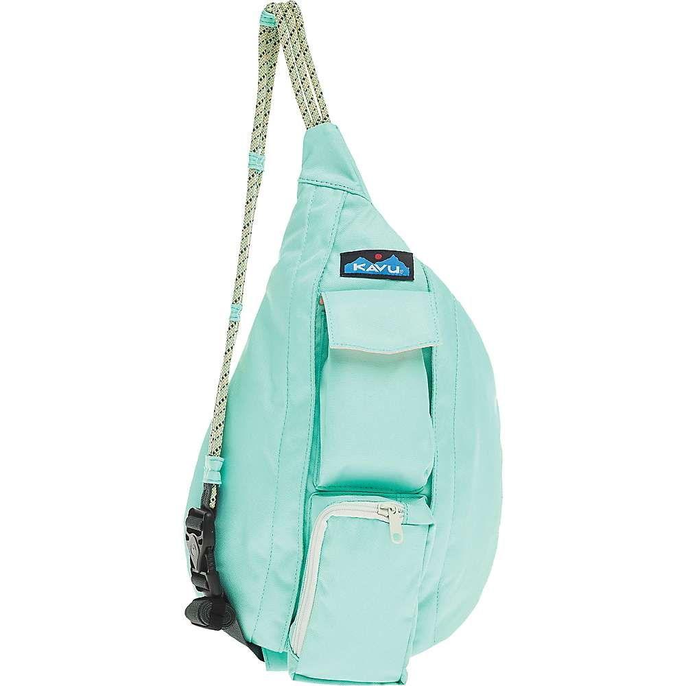カブー Kavu ユニセックス ボディバッグ・ウエストポーチ バッグ【KAVU Mini Rope Sling】Hyper Aqua