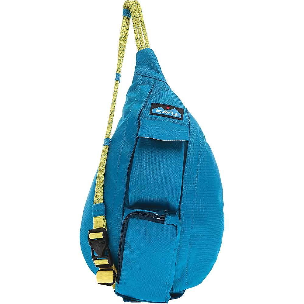 カブー Kavu ユニセックス ボディバッグ・ウエストポーチ バッグ【KAVU Mini Rope Sling】Skydive Blue