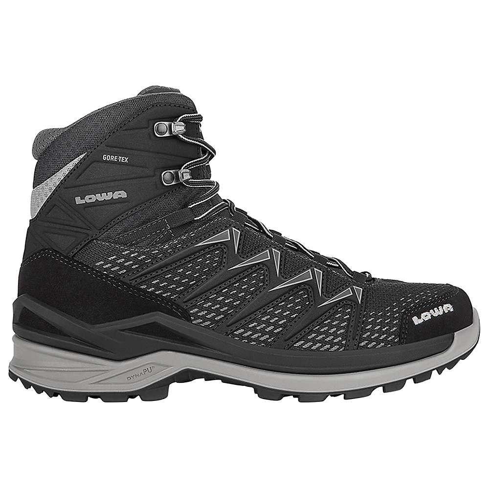 ローバー Lowa Boots メンズ ハイキング・登山 ブーツ シューズ・靴【Lowa Innox Pro GTX Mid Boot】Black/Grey