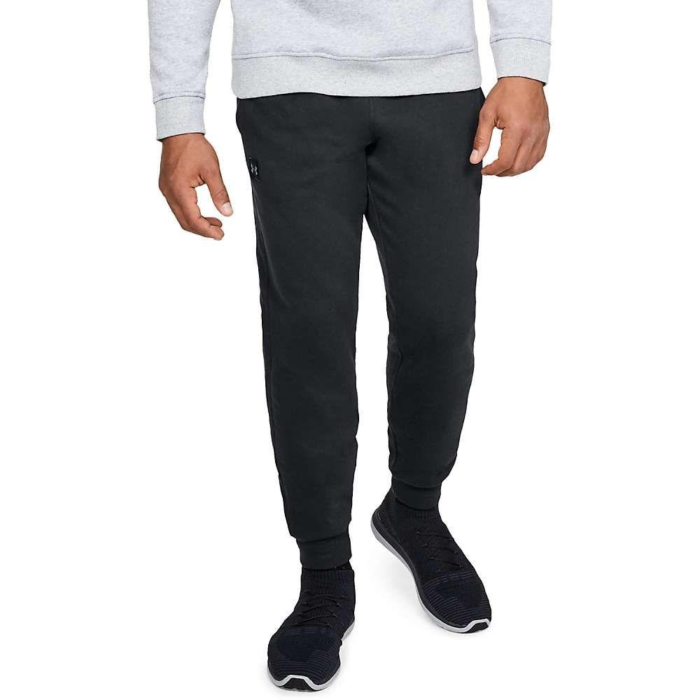 アンダーアーマー Under Armour メンズ ヨガ・ピラティス ジョガーパンツ ボトムス・パンツ【Rival Fleece Jogger Pant】Black/Black