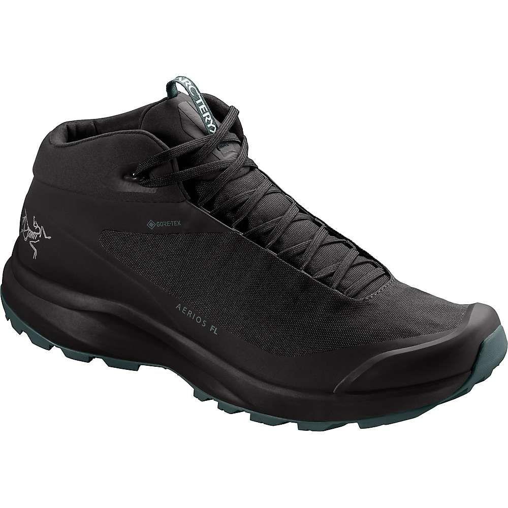 アークテリクス Arcteryx メンズ ランニング・ウォーキング シューズ・靴【Aerios FL MID GTX Shoe】Black/Cinder