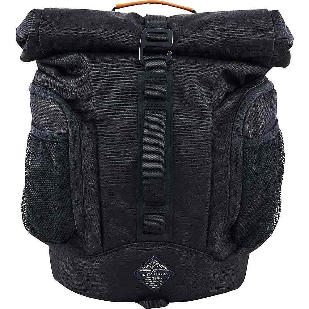 ユナイテッドバイブルー United By Blue ユニセックス バックパック・リュック バッグ【16L Rolltop Backpack】Black