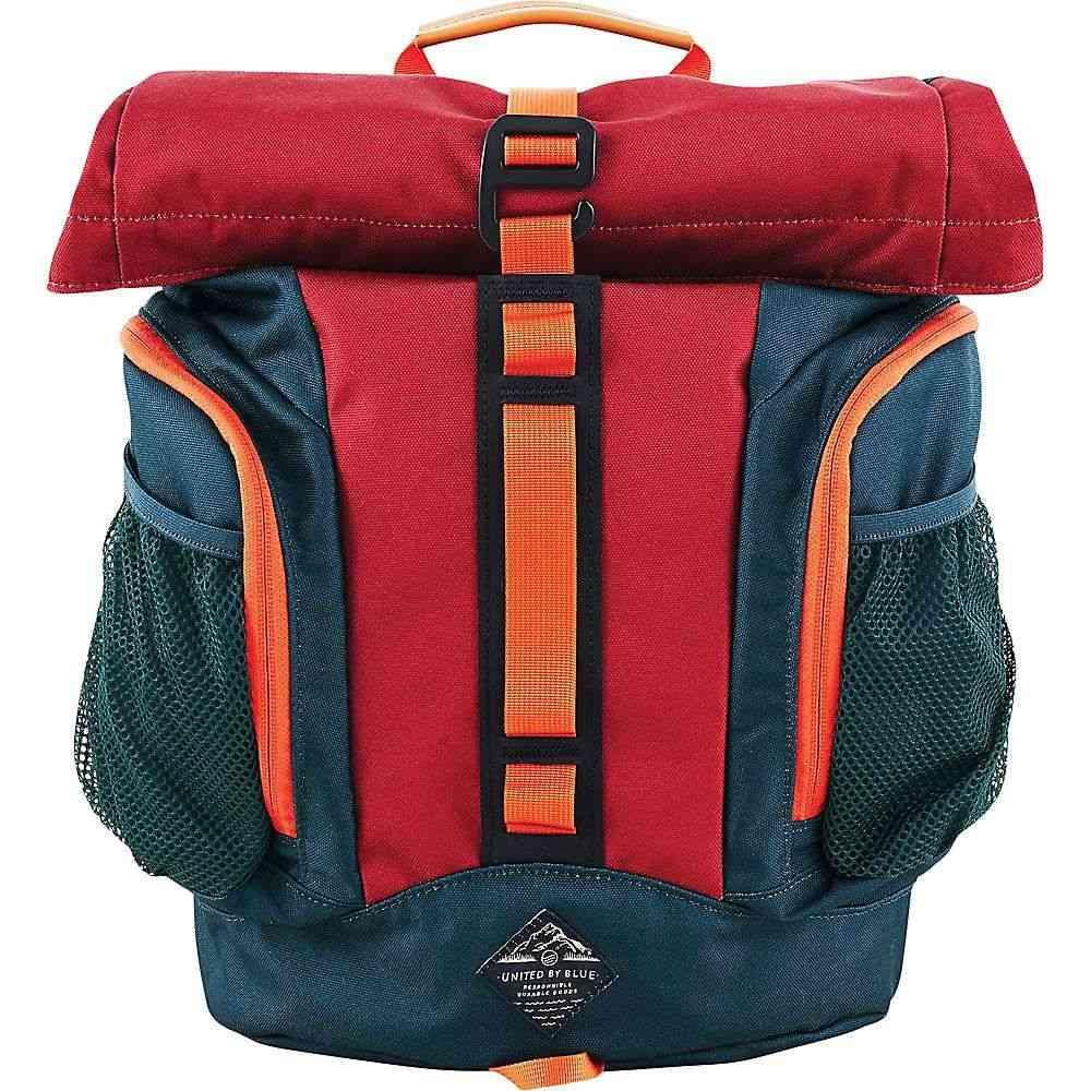 ユナイテッドバイブルー United By Blue ユニセックス バックパック・リュック バッグ【16L Rolltop Backpack】Crimson