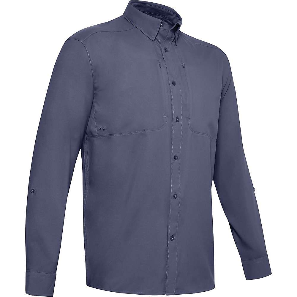アンダーアーマー Under Armour メンズ フィットネス・トレーニング トップス【Tide Chaser 2.0 LS Shirt】Blue Ink/Blue Ink