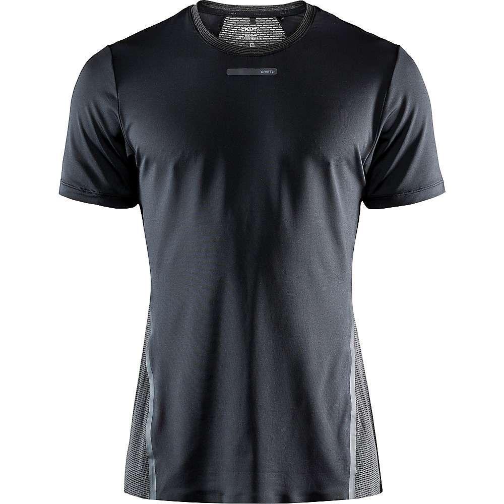 クラフト Craft Sportswear メンズ ランニング・ウォーキング Tシャツ トップス【Craft Vent Mesh SS Tee】Black