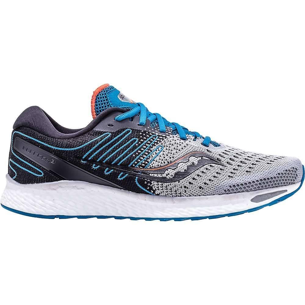 サッカニー Saucony メンズ ランニング・ウォーキング シューズ・靴【Freedom ISO 3】Grey/Blue