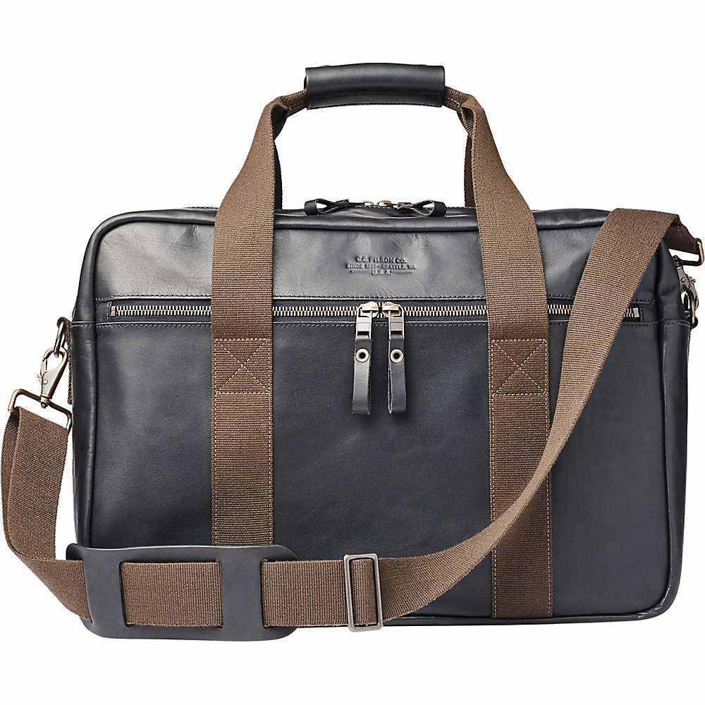 フィルソン Filson ユニセックス ボストンバッグ・ダッフルバッグ バッグ【Dawson Leather Duffle Bag】Black