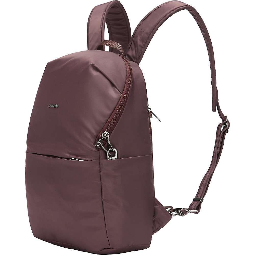 パックセーフ Pacsafe ユニセックス バックパック・リュック バッグ【Cruise Essentials Backpack】Pinot