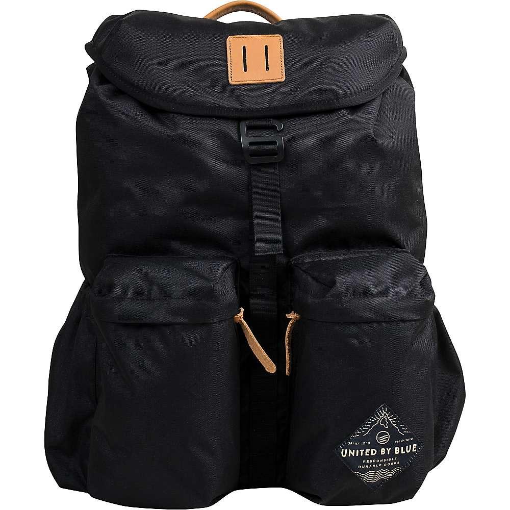 ユナイテッドバイブルー ユニセックス メンズ レディース バッグ バックパック・リュック【United By Blue 30L Base Backpack】Black