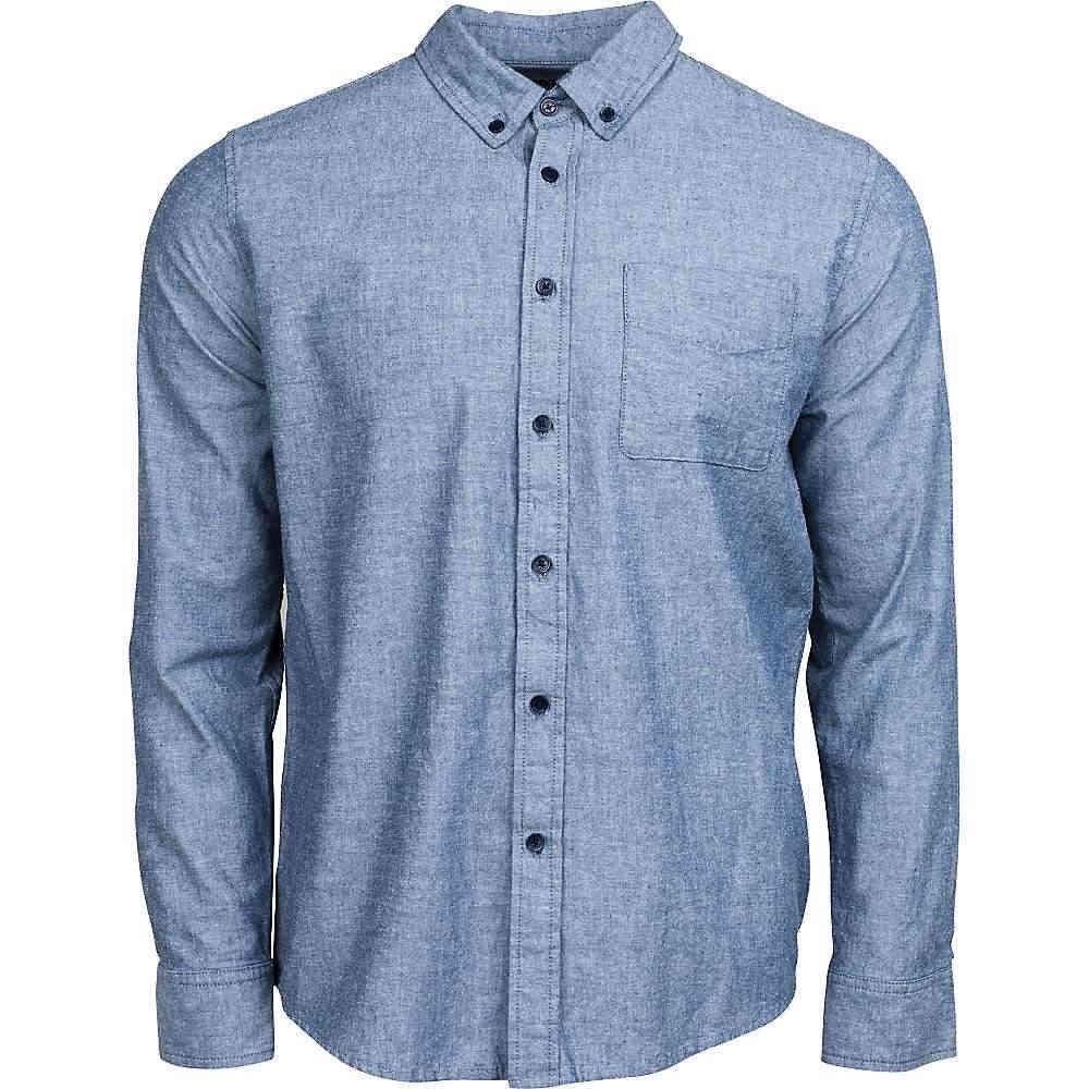 ユナイテッドバイブルー メンズ トップス 長袖シャツ【United By Blue Bryce Chambray Shirt】Blue