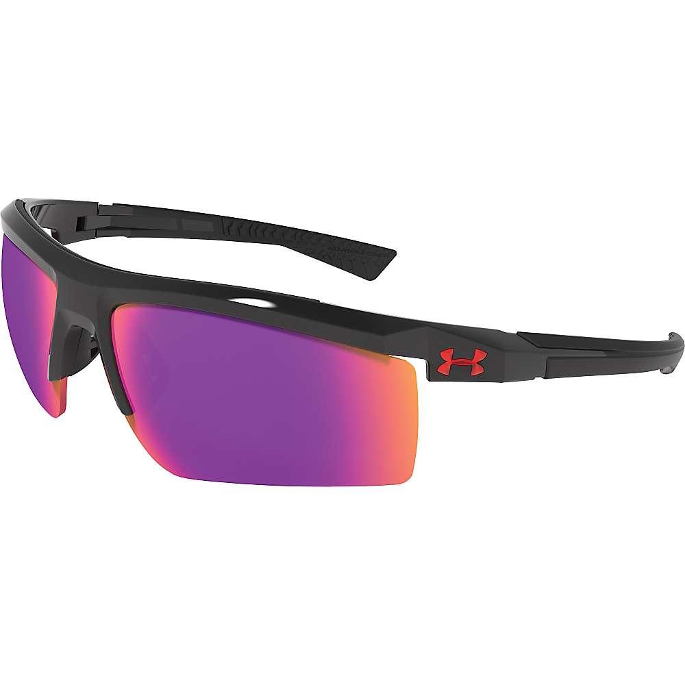 アンダーアーマー ユニセックス メンズ レディース アクセサリー メガネ・サングラス【Under Armour UA Core 2.0 Sunglasses】Shiny Black / Blk / Grey / Infrared Multiflection