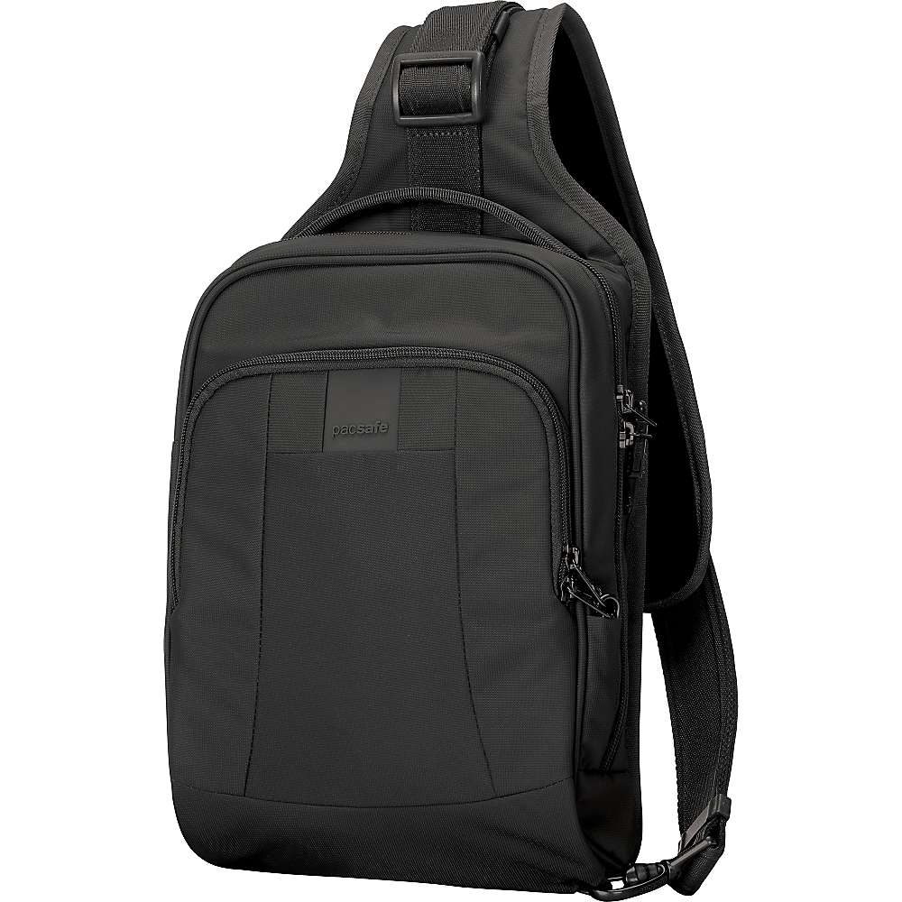 パックセイフ ユニセックス メンズ レディース バッグ バックパック・リュック【Pacsafe Metrosafe LS150 Anti-Theft Sling Backpack】Black