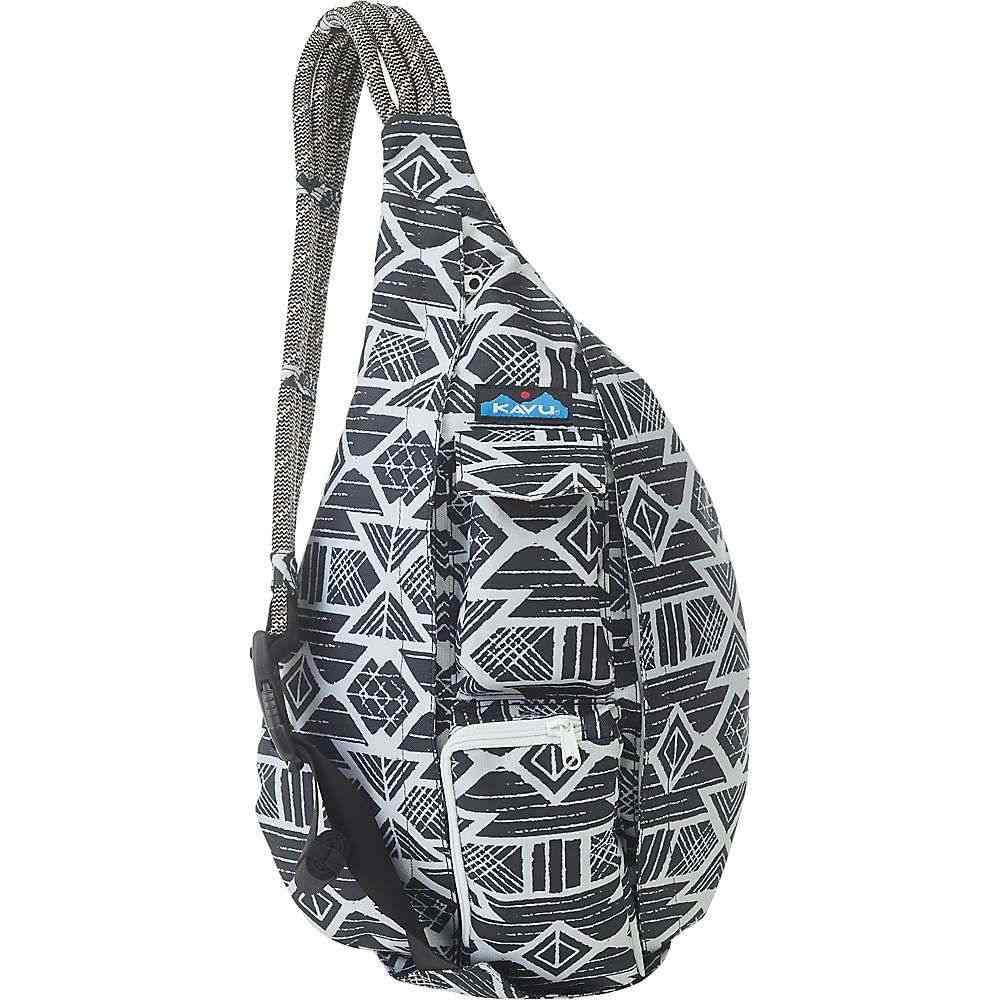 カブー Kavu レディース ボディバッグ・ウエストポーチ バッグ【KAVU Rope Sling Bag】Carbon Tribal